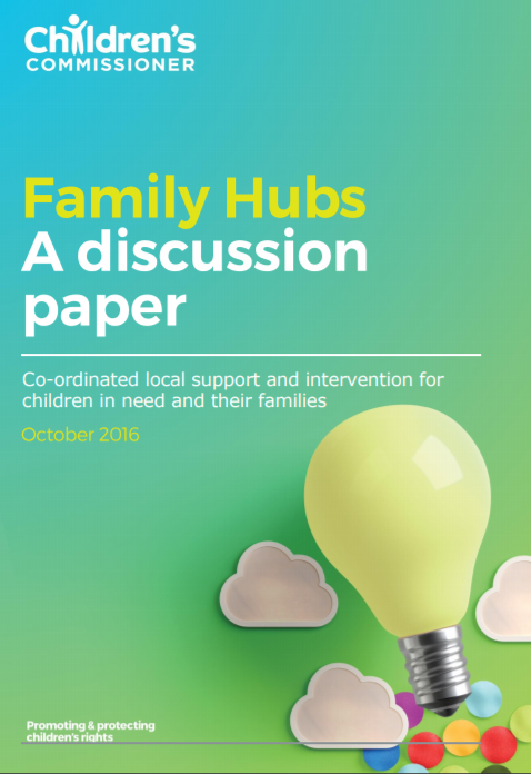 Family Hubs: A Discussion Paper