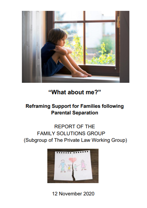 """""""What about me?"""" Reframing Support for Families following Parental Separation"""