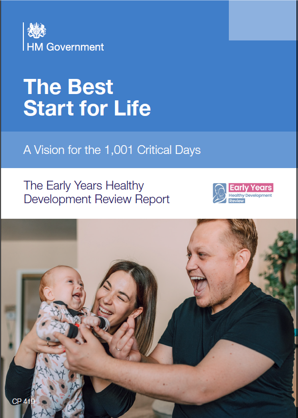 The Best Start for Life: A Vision for the 1,001 Critical Days
